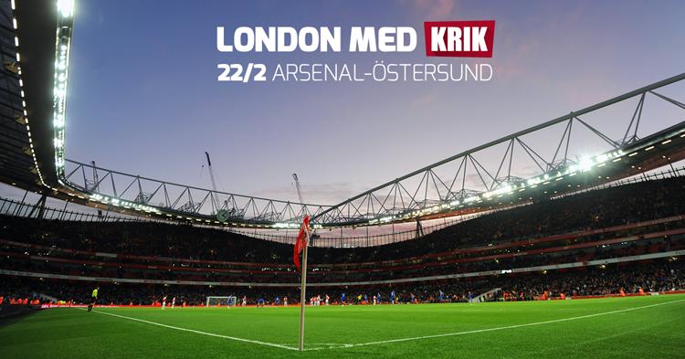 KRIK Fotboll arrangerar den 22-24 februari en fotbollsresa till London i  sann KRIK-gemenskap där idrottsglädje 3655a6405e173